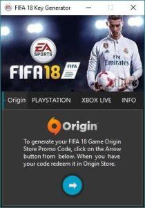 FIFA 18 Keygen